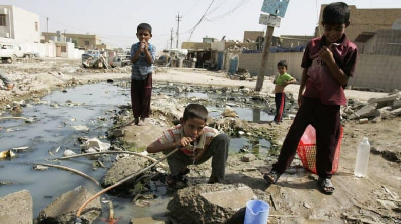 Cholera Yemen children water