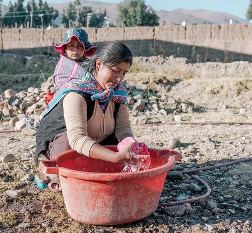 Water shortage Peru - photo credit Water.org