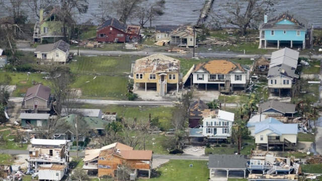 Louisiana hurricane Laura aftermath by AP