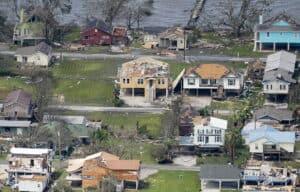 Louisiana hurricane Laura Slider