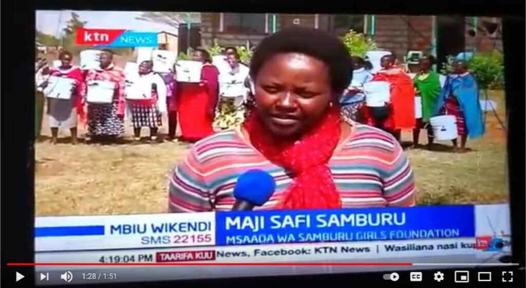Samburu RipplAffect filter distribution KTN News