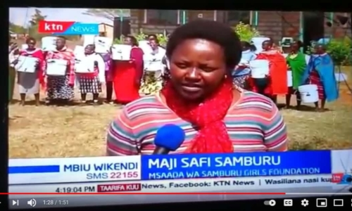 Samburu RipplAffect filter distribution KTN News