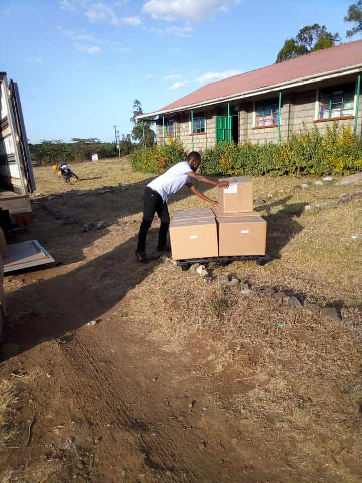 Samburu Sawyer filters delivery